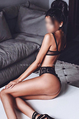 Upscale young professional escort from France