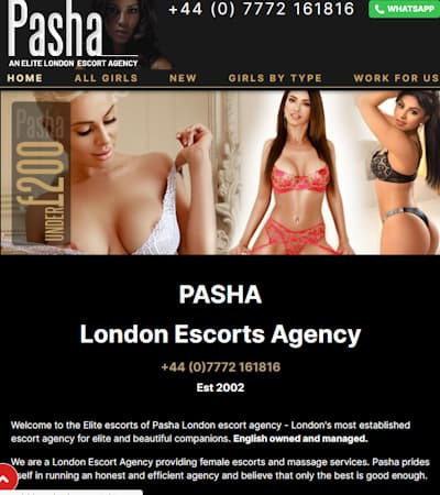 One of the longest estbalished escorts agencies in London