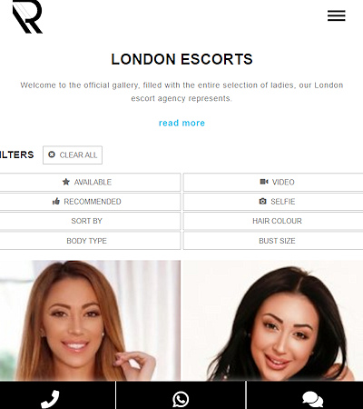 Find the freshest newest escorts in London