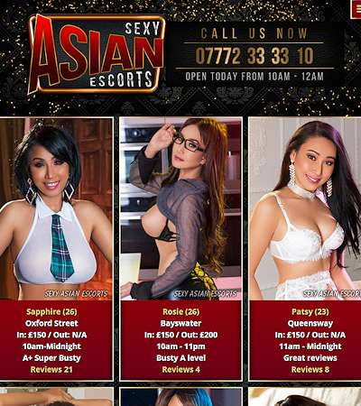 The only agency you will need for genuine Oriental escorts